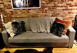 Grey Sleeper Sofa $150 for Sale in New York, NY