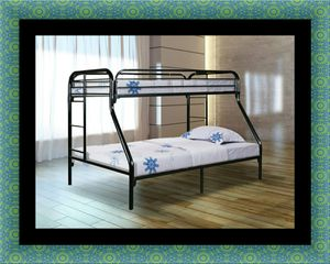 Full twin bunk bed frame for Sale in Alexandria, VA