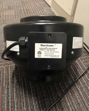 "8"" Hurricane Can Fan / Grow Fan for Sale in San Diego, CA"