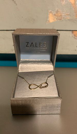 Zales gold necklace for Sale in Bethlehem, PA