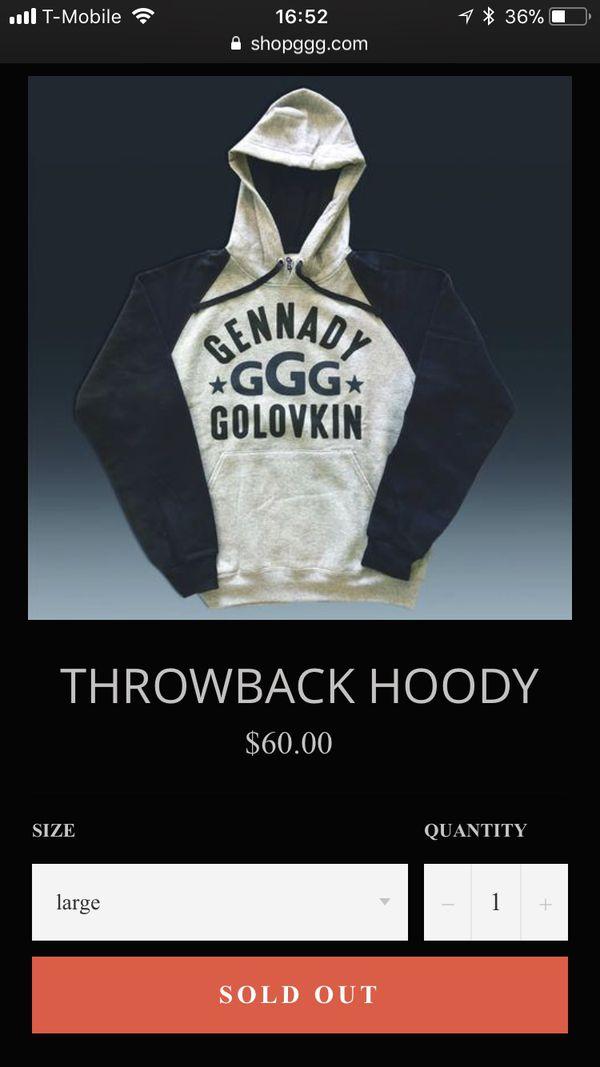 45527328f44902 Gennady GGG Golovkin Hoodie for Sale in Long Beach