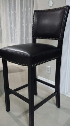 """High Chair leather Barstool Studs Nail 29"""" Brand New for Sale in Walnut, CA"""