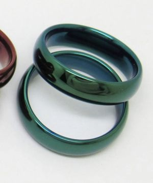Tungsten Carbide Ring - Size 10, Green for Sale in Newburgh, ME
