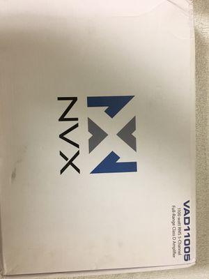 NVX 5 Channel Amplifier for Sale in San Jose, CA
