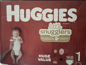 Huggies little snugglers Diapers for Sale in Hyattsville, MD