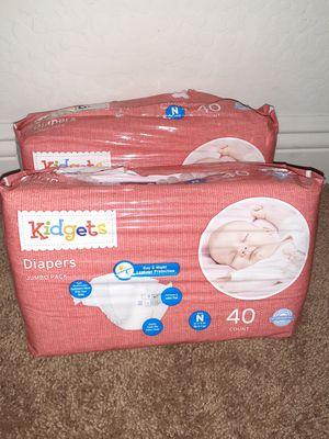 Brand new Newborn diapers for Sale in Phoenix, AZ