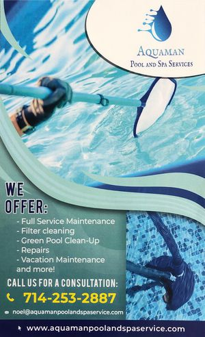 Pool maintenance/ pool equipment for sale for Sale in La Mirada, CA