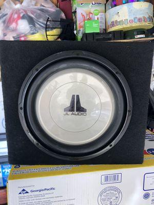 12in JL Audio sub work perfect for Sale in Hawaiian Gardens, CA