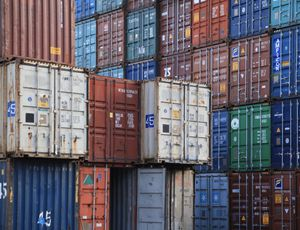 Used Containers- 40' HC Shipping Boxes WWT for Sale in Amarillo, TX