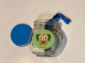 Dog Collar & container for Sale in Linden, NJ