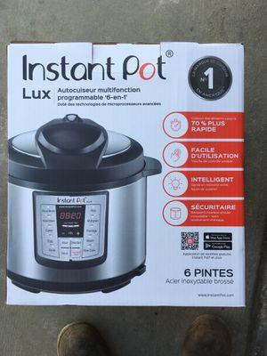 Instant Pot 6-in-1 for Sale in Huntington Beach, CA
