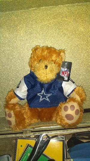 NFL Dallas Cowboys teddy bear officially license for Sale in Marion, IN
