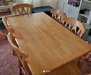 Solid wood 7PC Dining Set for Sale in Obetz, OH