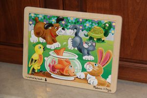 Melissa and Doug Pets Jigsaw Puzzle $5 for Sale in Stockton, CA
