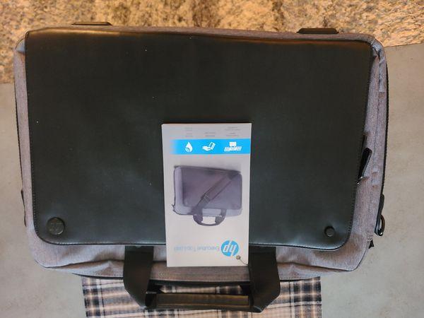 "HP P6N18AA 15.6"" Executive Laptop Backpack"