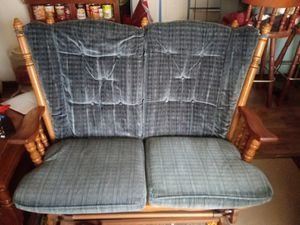loveseat and rocker and ottoman for Sale in Fort Wayne, IN