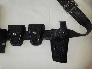 Police/Security uniform Belt w accs for Sale in Rolling Hills Estates, CA