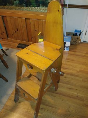 Vintage shelf/iron board/ladder for Sale in Rossford, OH