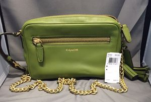 New leather Coach bag purse shoulder bag crossbody for Sale in Zephyrhills, FL