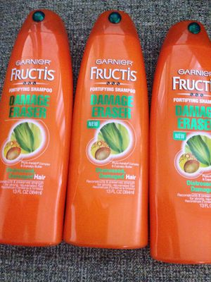 Not available 3. Bottles of Garnier Fructis. Please See All The Pictures and Read the description for Sale in Falls Church, VA