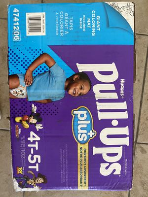 Huggies pull ups size 4T-5T for Sale in Spring Valley, CA