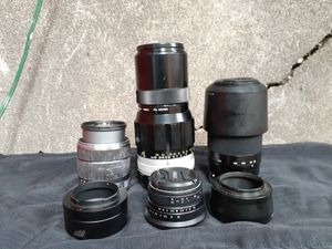 Sony Camera E mount lens bundle for Sale in Portland, OR