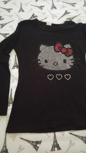 Girls Hello Kitty Long Sleeve Top Size Med 8/10 for Sale in Montclair, CA