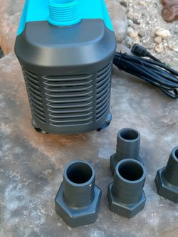 Pond Waterfall Hydroponic Pump, Fully Submersible 1220 GPH for Sale in Las Vegas,  NV