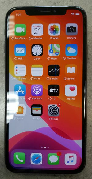 T-Mobile or MetroPCS Apple iPhone X 64gb Black IOS Smart Cell Phone for Sale in Vancouver, WA