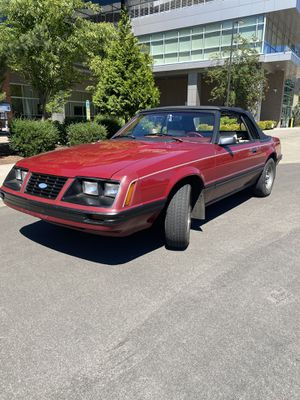 1983 Ford Mustang GLX Convertible Classic Car -Clean Title for Sale in Vancouver, WA