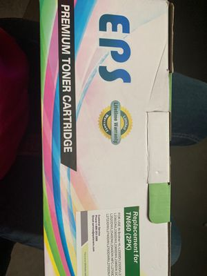 Printer cartridge TN660 twin pack for Sale in Nolanville, TX