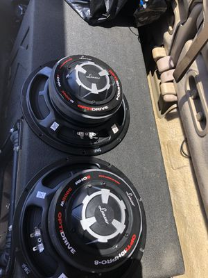 10 inches 2000 watts lanzer voice speakers for Sale in Boston, MA