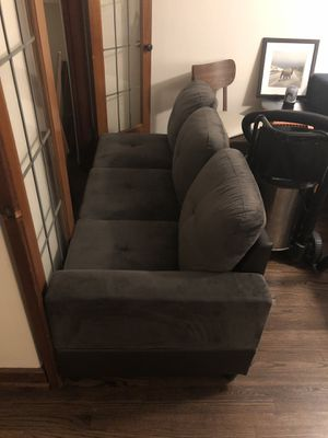 Couch and ottoman for Sale in Seattle, WA