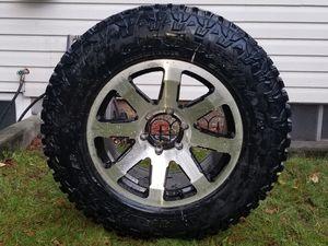 New All Terraine Tire with Rim for Sale in Auburn, WA