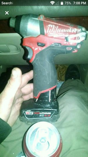 Milwaukee brushless compact drill for Sale in Everett, WA