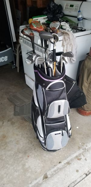 Golf clubs with Great bag for Sale in Dearborn, MI
