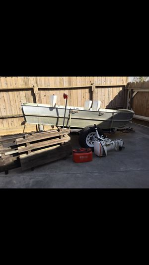 Aluminum Fishing Boat for Sale in Antioch, CA