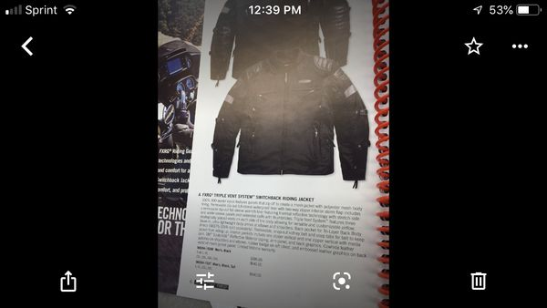 Harley Davison's Best All Weather Motorcycle Jacket Price reduced by 10%