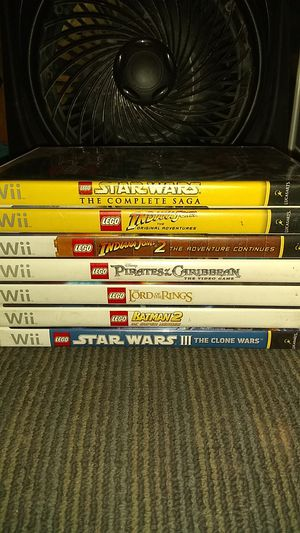 Wii Lego games: lot of 7 for Sale in Phoenix, AZ