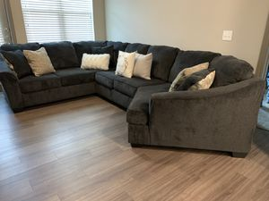 Sectional couch for Sale in Baytown, TX