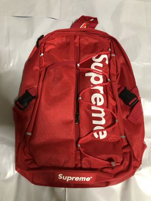 Hypestuff supreme Ss17 backpack for men and women hypebeast bag travel school college work gym bag bookbag for Sale in Brooklyn, NY