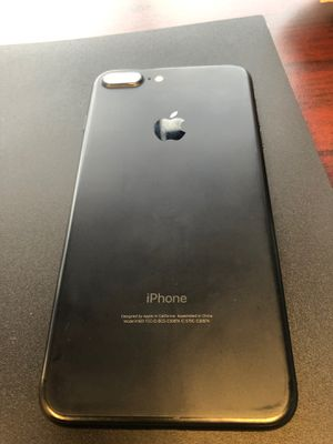 iPhone 7 Plus. Used small ding in right corner . Works perfect. Unlocked to all carriers for Sale in Blacklick, OH