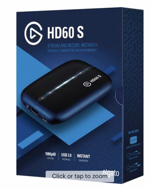 El Gato HD60s for Console Streaming W/ Yeti Mic for Sale in Fontana, CA
