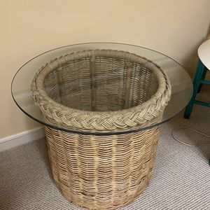 2 hand woven side tables - $40 each (i have 2 of this) for Sale in Rockville, MD