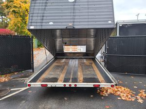 "2005 Triton 12'x101"" enclosed clamshell 2 place all aluminum trailer for Sale in Westford, MA"