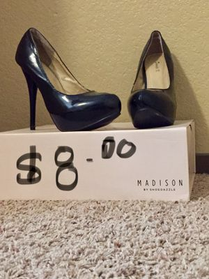 Blck heels size 9 for Sale in Kingsburg, CA