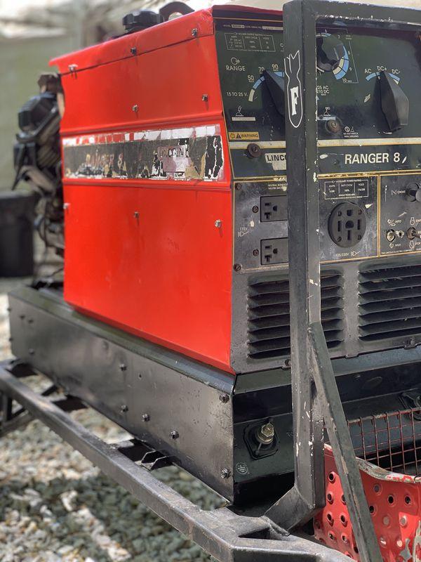 Lincoln Ranger 8 Welder/Generator