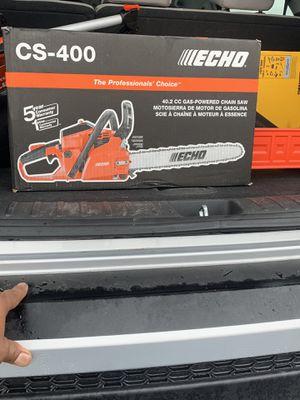 Echo cs400 chainsaw for Sale in DeLand, FL