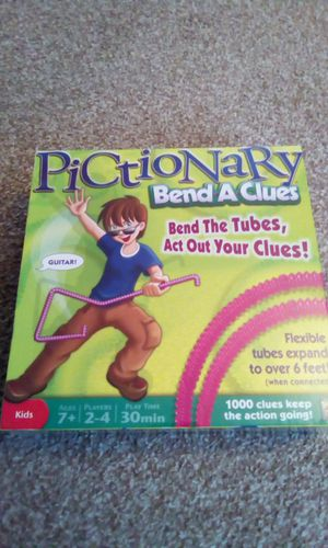 Pictionary Bend-a-Clues Brand new for Sale in Abilene, TX