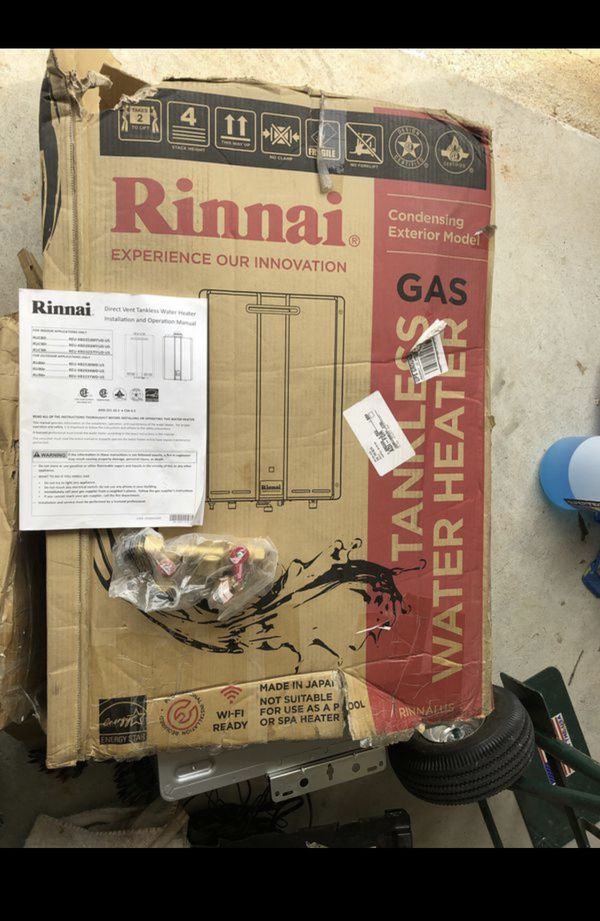 Brand New / Rinnai Tankless water heater / Natural Gas